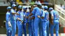 India vs West Indies 2013 Live Cricket Score: India win by 102 runs, earn bonus point