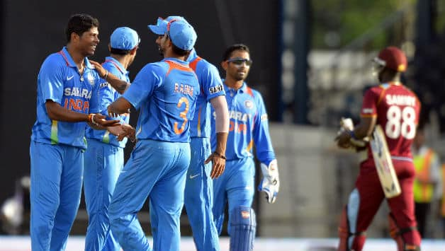 India earn bonus point with 102-run win over West Indies