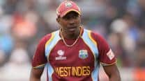 Dwayne Bravo suspended from 5th ODI of tri-series against Sri Lanka for slow over-rate