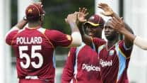 West Indies vs Sri Lanka 5th tri-series ODI: Match interrupted by rain, play to continue on Monday