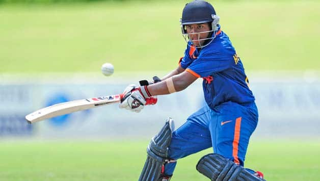 India U-19 register 6-wicket win to reach final of tri-nation series