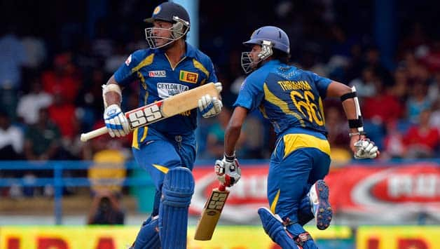 West Indies vs Sri Lanka 5th tri-series match resumes after rain delay