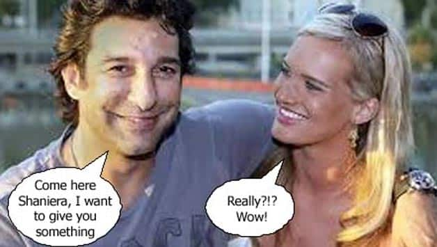 Exclusive pictures: How Wasim Akram proposed to his Australian girlfriend, Shaniera Thompson!
