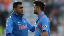 MS Dhoni likely to play if India qualify for tri-series final: Virat Kohli
