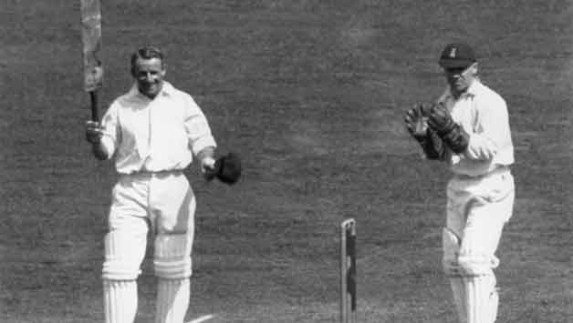 21-year-old Don Bradman scores 309 in a day in the 1930 Ashes series