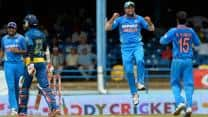 India require 202 to win Caribbean tri-series final against Sri Lanka