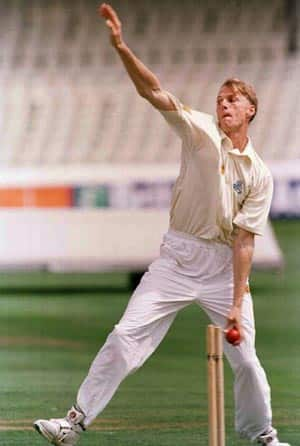 Alan Mullally: A promising left-arm fast bowler with fluid action whose career was undone by injuries