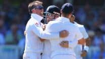 Ashes 2013: Graeme Swann helps England reduce Australia to 96/7 at tea on Day 2 of Lord's Test