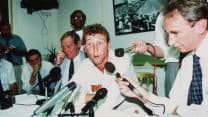 When Michael Atherton was almost stripped of his captaincy for ball-tampering