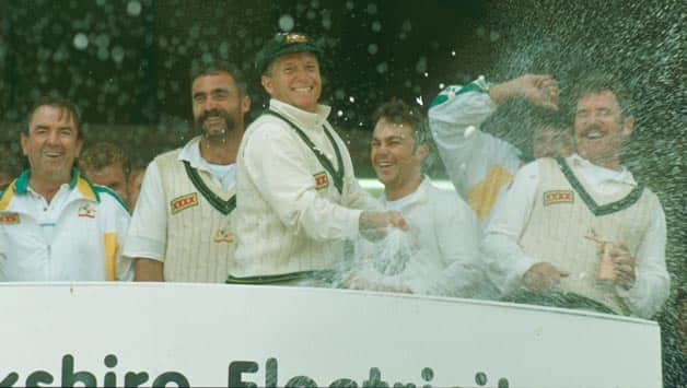 1993 Ashes, Headingley: Allan Border and Steve Waugh drown England to the lowest point in their cricketing history