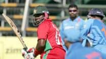 Live Cricket Score India vs Zimbabwe 2013 4th ODI match at Bulawayo