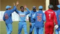 India bundle out Zimbabwe for 144 in 4th ODI