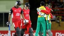 CPL 2013: Guyanese Amazon Warriors beat Trinidad and Tobago Red Steel by 19 runs