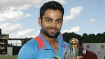 Virat Kohli credits his success as India captain to MS Dhoni