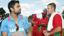 Zimbabwe gather cricketing tips in Indian dressing room