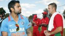 Zimbabwe gather cricketing tips in Indian dressing room