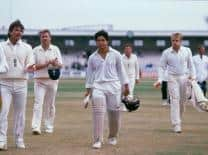 Sachin Tendulkar's first of the many Test hundreds under pressure