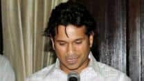 Sachin Tendulkar's innings in the Rajya Sabha in photos