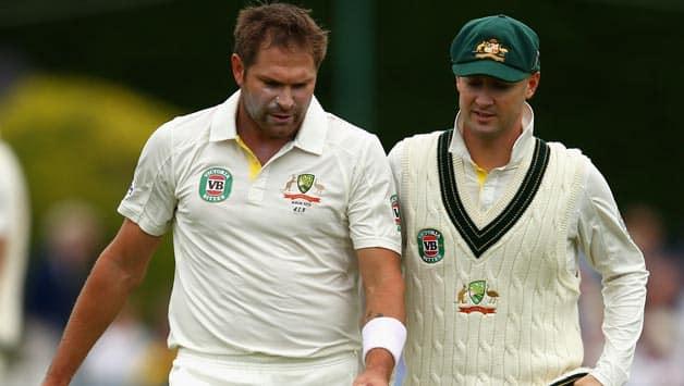 Michael Clarke confident of Ryan Harris' fitness ahead of 4th Test