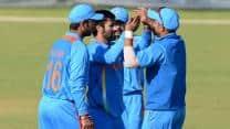 India A beat Australia A by 50 runs; clinch tri-series