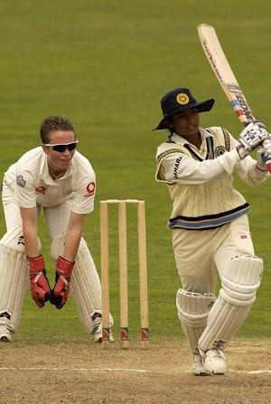 Mithali Raj bursts onto the scene with a world record Test score