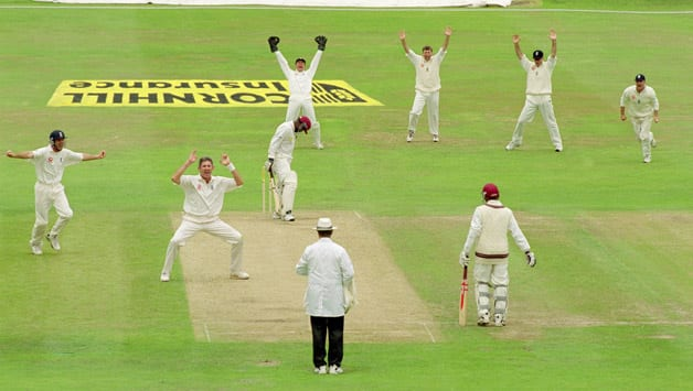West Indies lose Leeds Test inside two days; Andrew Caddick scalps four wickets in five balls