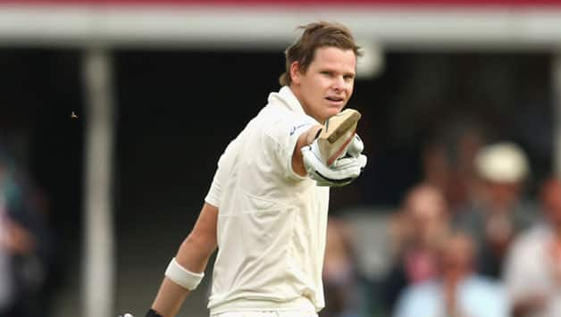 Ashes 2013: Steven Smith's maiden ton guides Australia to 397/6 at tea on Day 2 of 5th Test