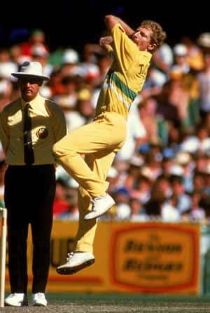 Peter Taylor: Australia's go-to off-spinner for a brief period in ODIs