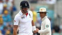 Ashes 2013: Michael Clarke-Kevin Pietersen 'tame' sledging livens up slow day at The Oval