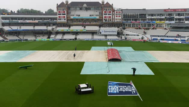 Ashes 2013: Early lunch taken as persistent rain washes out morning session on Day 4 of 5th Test