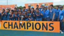 Balvinder Singh Sandhu launches book on India's Under-19 World Cup win in 2012