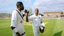 When Curtly Ambrose and Courtney Walsh were given a guard of honour at The Oval