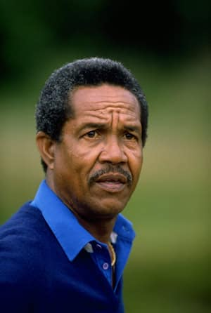 Garry Sobers scores a duck and concedes defeat in the final over of his only ODI