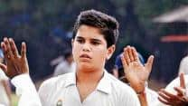 Sachin Tendulkar's son Arjun scores 1 run, takes 1 wicket on Kanga League debut