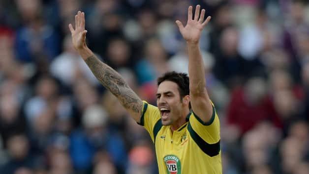England vs Australia 2013: Matthew Wade sings praise of Mitchell Johnson after 3rd ODI washout