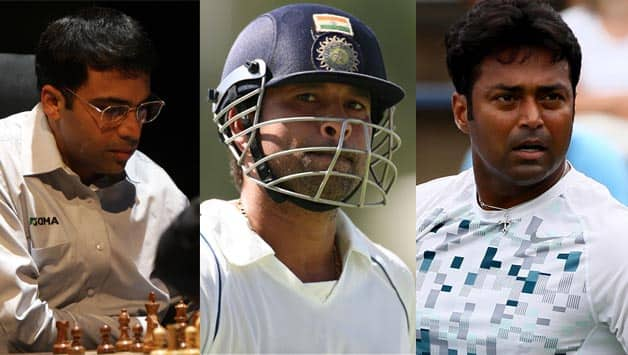 Viswanathan Anand, Sachin Tendulkar and Leander Paes: Three legends without parallel