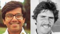 32-year-old Dilip Doshi scalps six in an innings on Test debut after young Allan Border scores masterly hundred