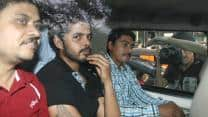 S Sreesanth arrives to attend BCCI's disciplinary committee meeting