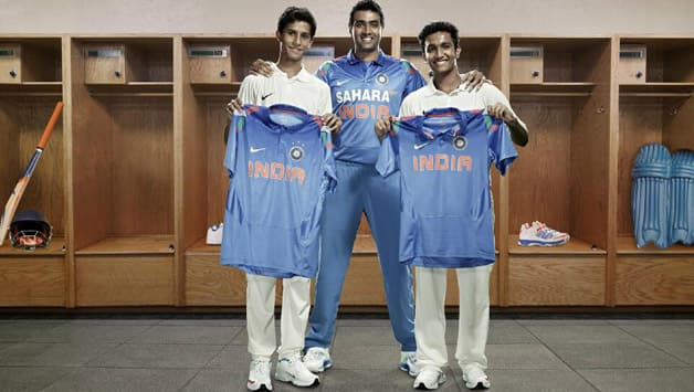 Team India's new ODI jersey unveiled