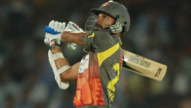 Sunrisers Hyderabad vs Faisalabad Wolves Live Cricket Score, CLT20 Qualifiers match: Dhawan falls but Sunrisers close-in on win