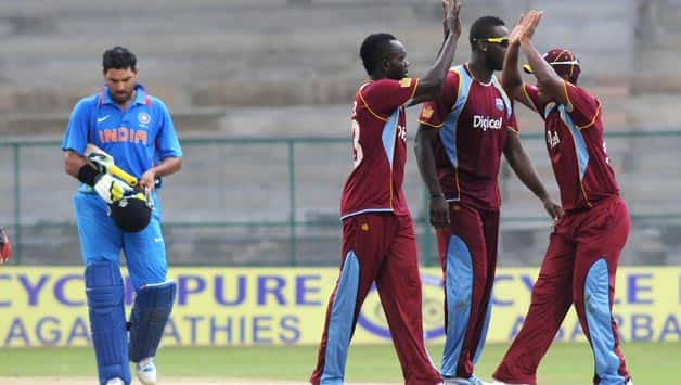 India A vs West Indies A Live Cricket Score 3rd unofficial ODI: West Indies A win by 45 runs