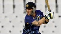 CLT20 2013: Brendon McCullum's quickfire 67 inspires Otago Volts to 5-wicket win over Sunrisers Hyderabad<br />