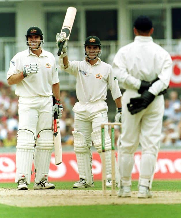 Ashes 2001: The beginning of the Matthew Hayden and Justin Langer romance