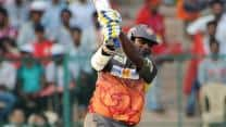 CLT20 2013: Thisara Perera inspires Sunrisers Hyderbad to 4-wicket win over Trinidad and Tobago