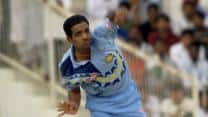 Sunil Joshi registers figures of 10-6-6-5 against South Africa