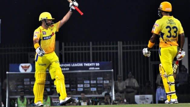 Dhoni praises Raina-Badrinath partnership in Chennai Super Kings-Sunriser Hyderabad CLT20 2013 match