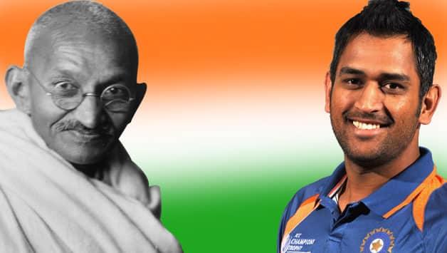 MS Dhoni: I follow many of Mahatma Gandhi's philosophy