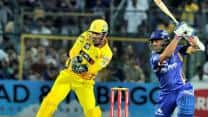 Ajinkya Rahane takes Rajasthan Royals to 159/8 against Chennai Super Kings in 1st semi-final of CLT20 2013