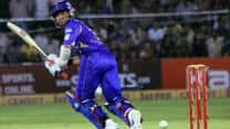 Ravichandran Ashwin's blitz in vain as Rajasthan Royals edge Chennai Super Kings out by 14 runs to enter CLT20 2013 final