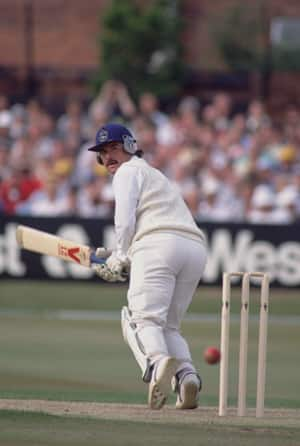 1987 World Cup: Allan Lamb douses West Indies' hopes with an unbeaten 67